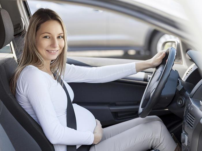 car travel pregnancy