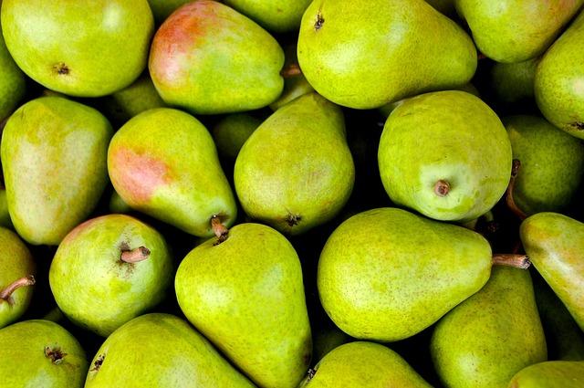 pears in pregnancy