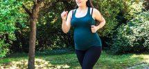 jogging pregnant