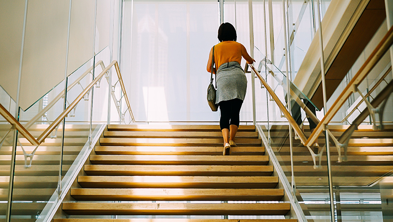 climbing stairs in pregnancy