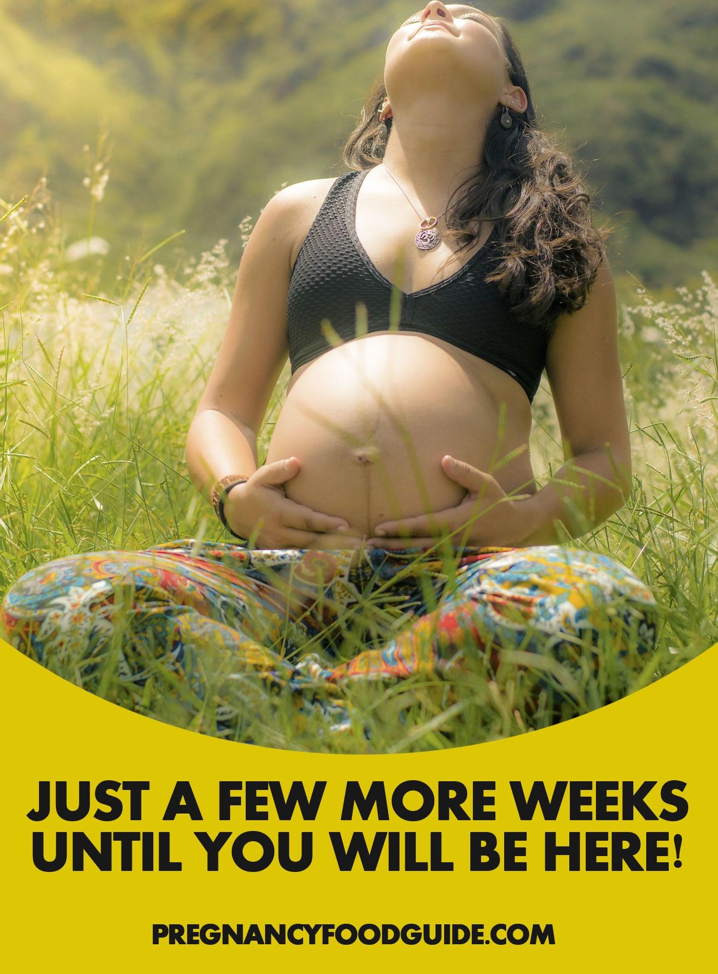 just few more weeks