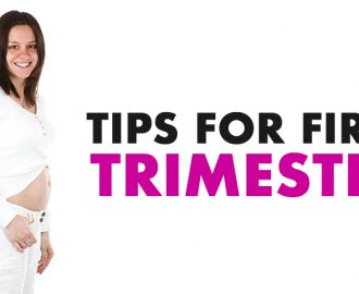 first trimester tips
