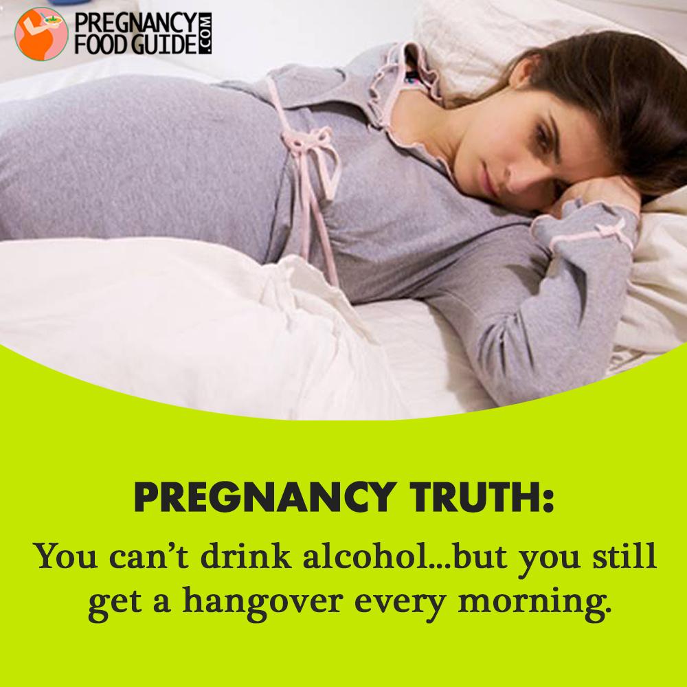 pregnancy hangover