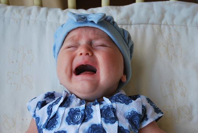 baby cry no tears
