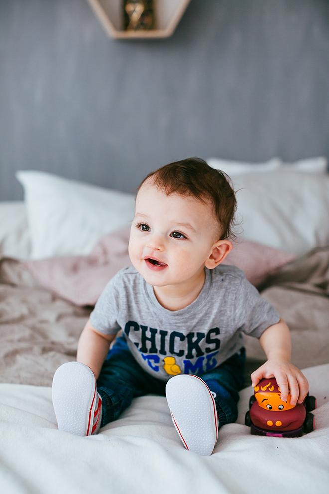 Baby boy portrait photoshoot