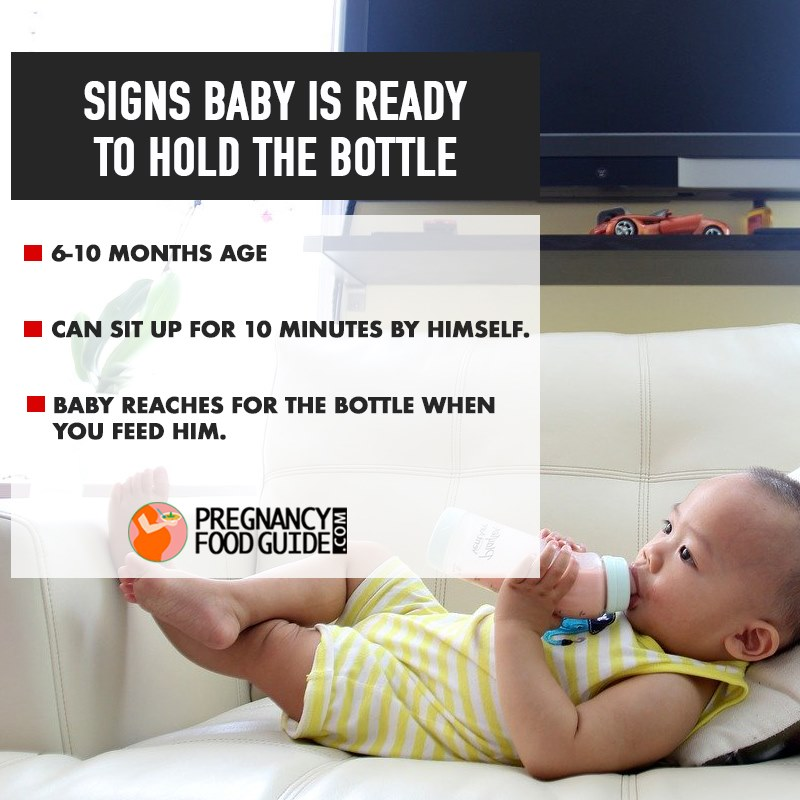 baby ready for bottle