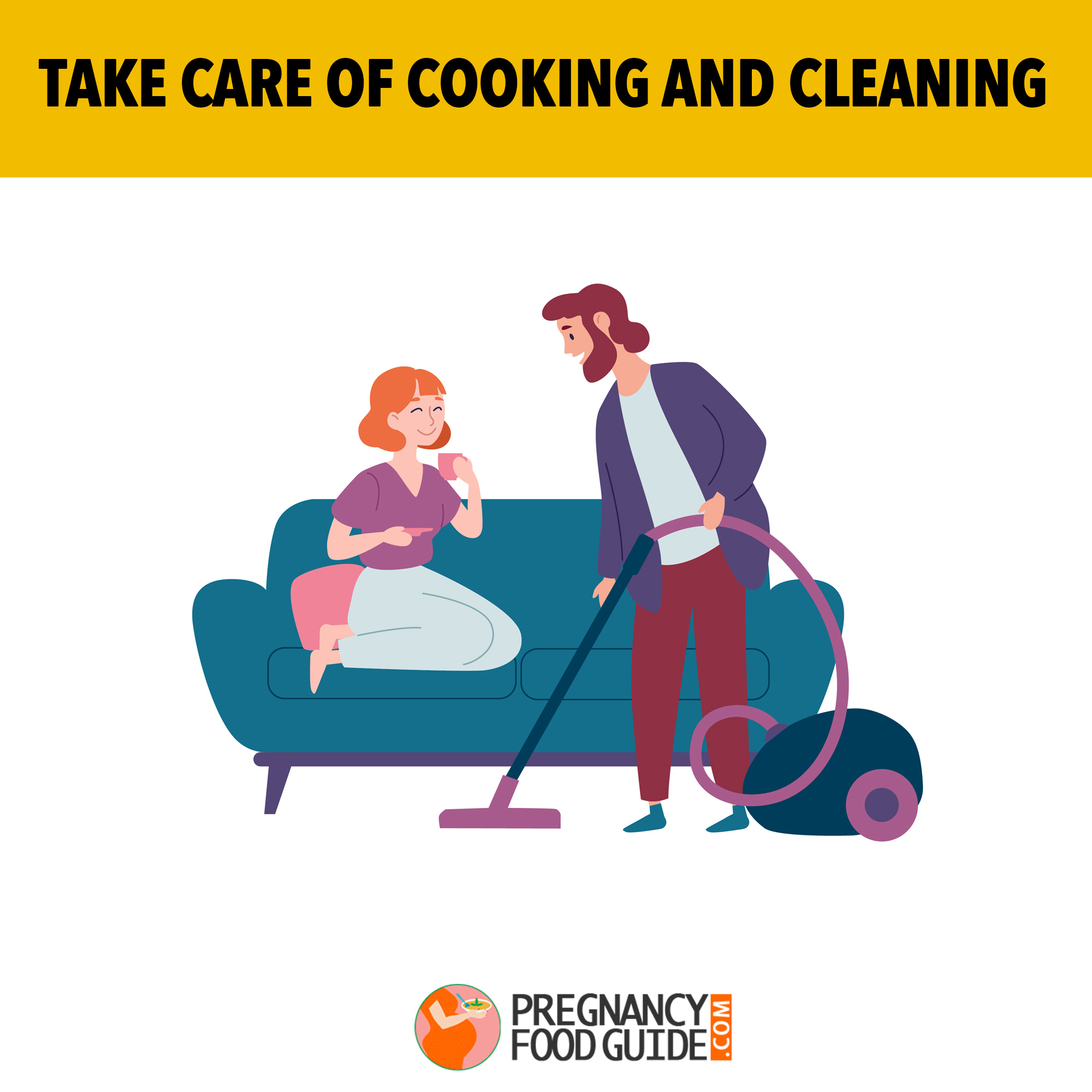 cooking and cleaning