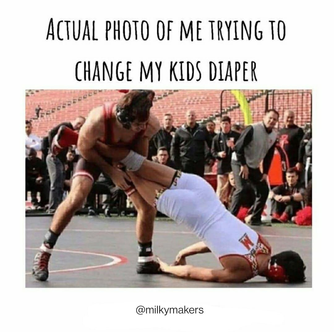 diaper change funny