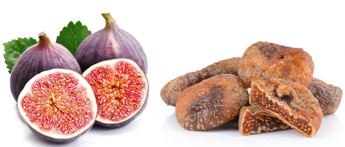 figs dried and fresh