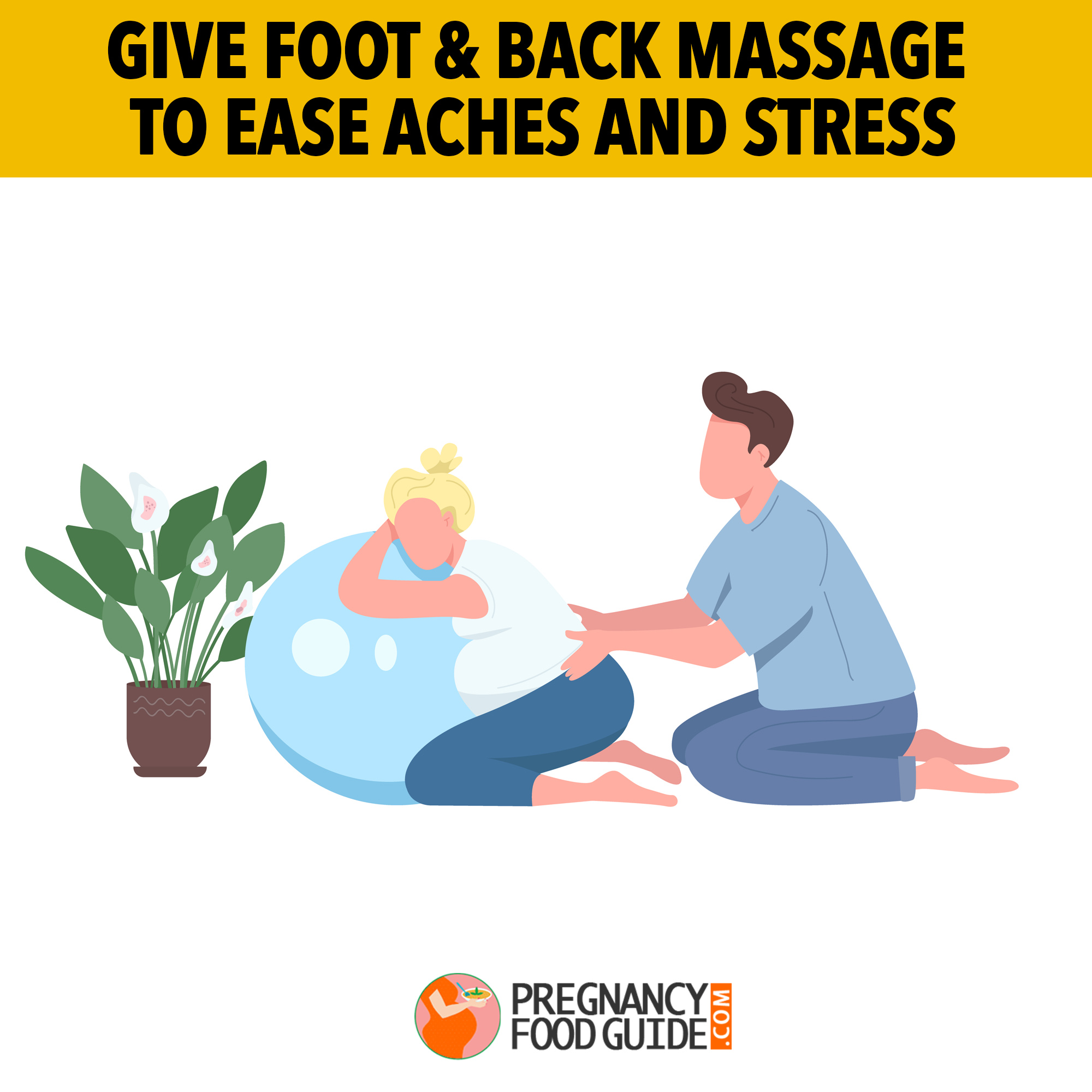 foot and back massage