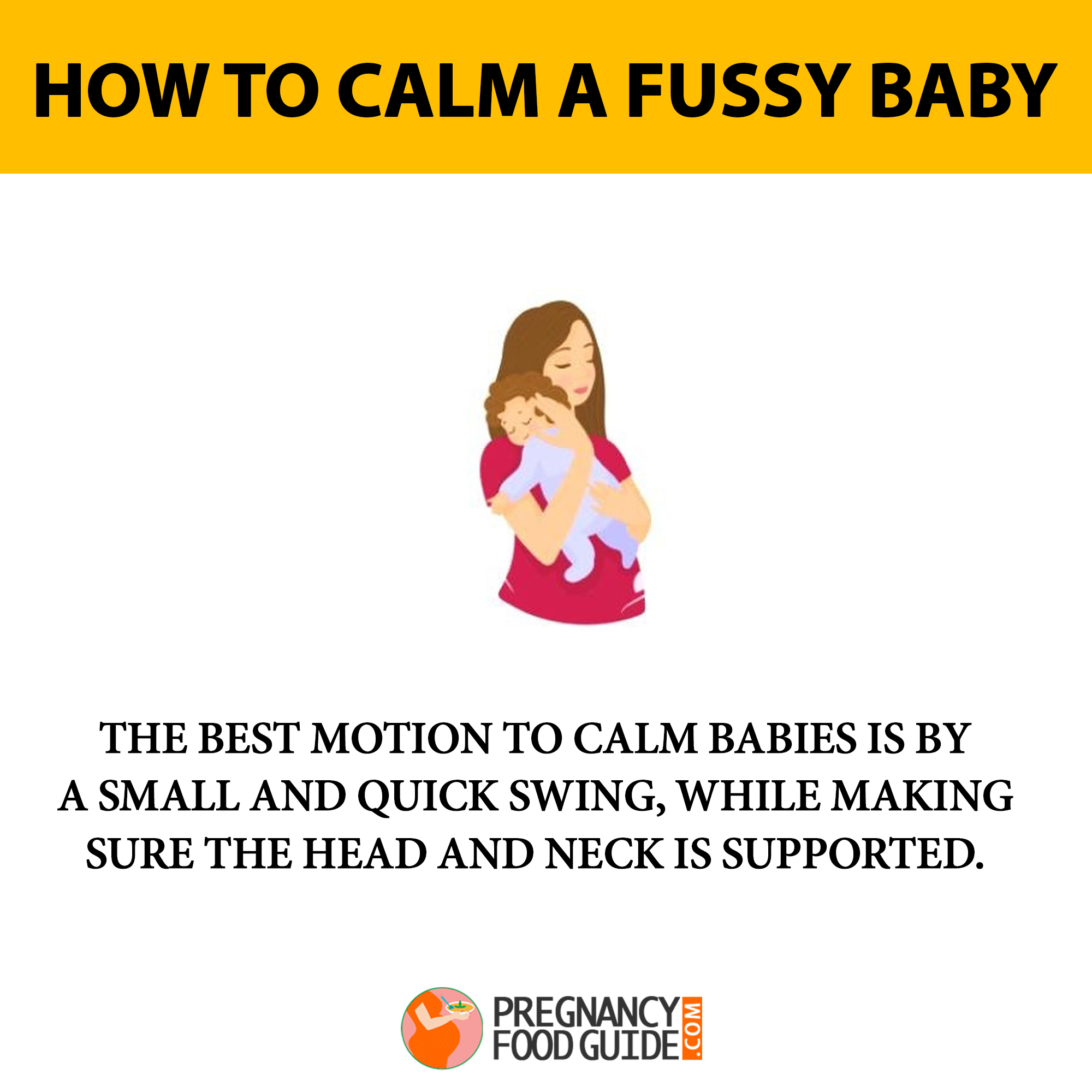 how to calm baby