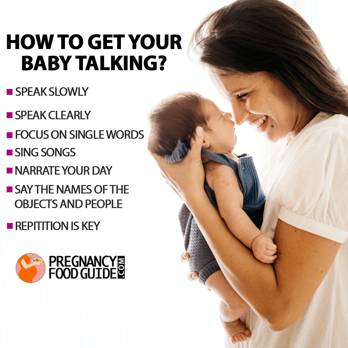 how to get baby talking