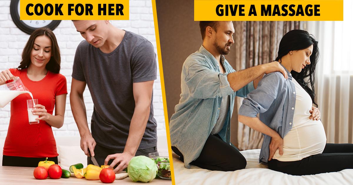 husband support pregnancy