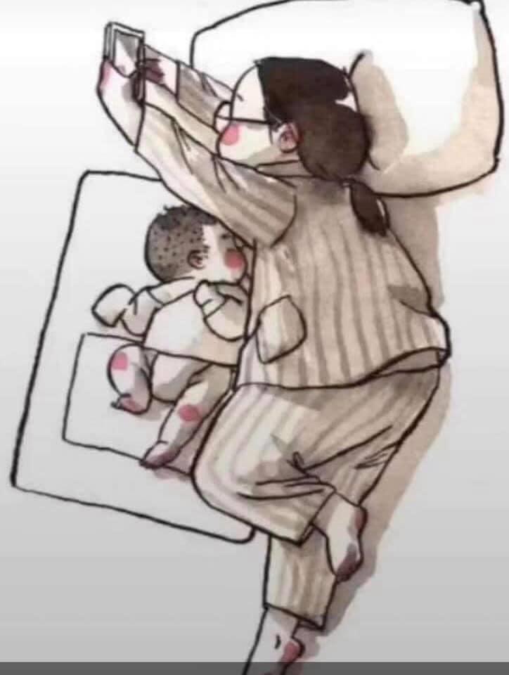 new mom life