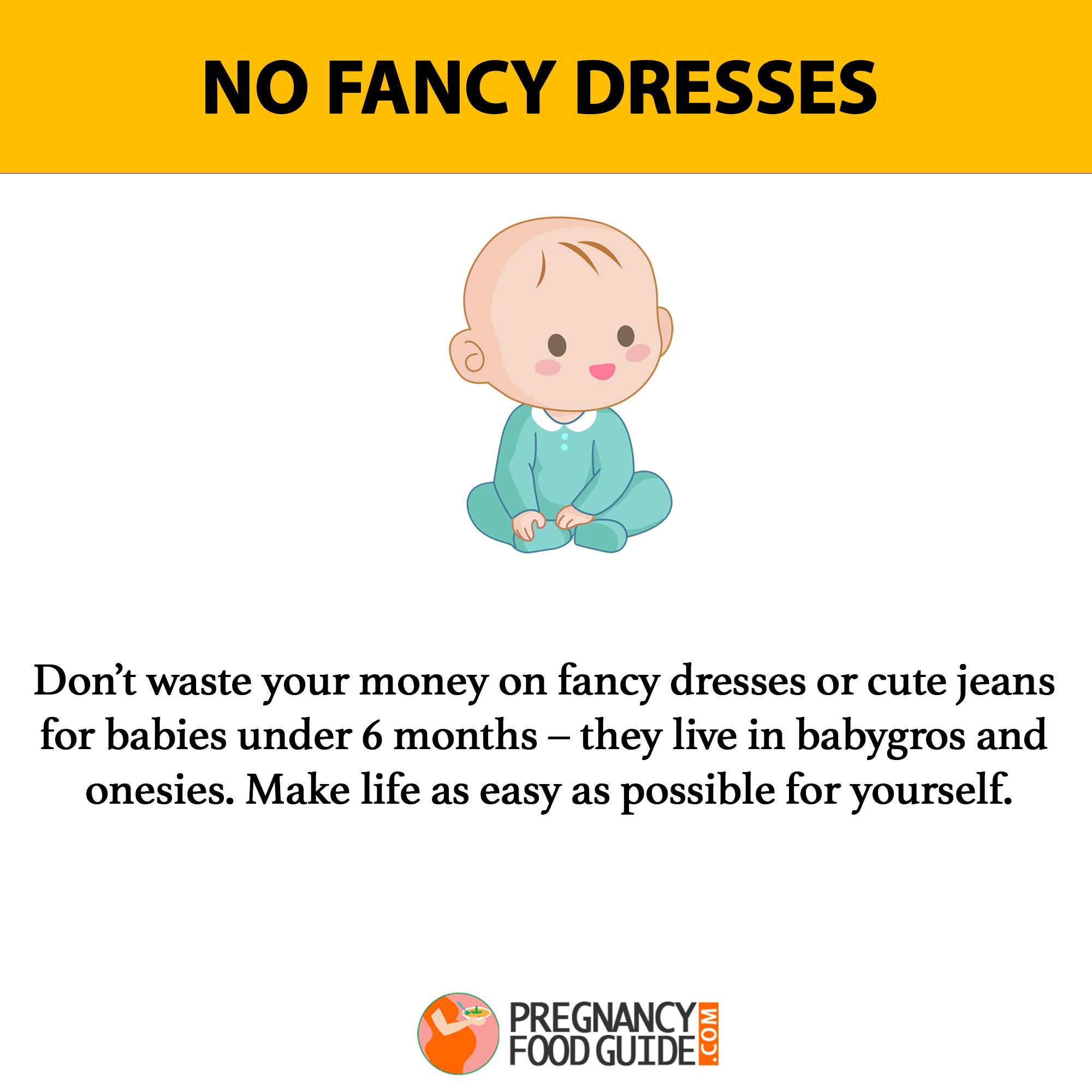 no fancy dress