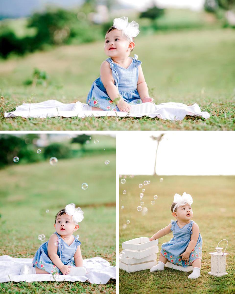 outdoor baby photoshoot