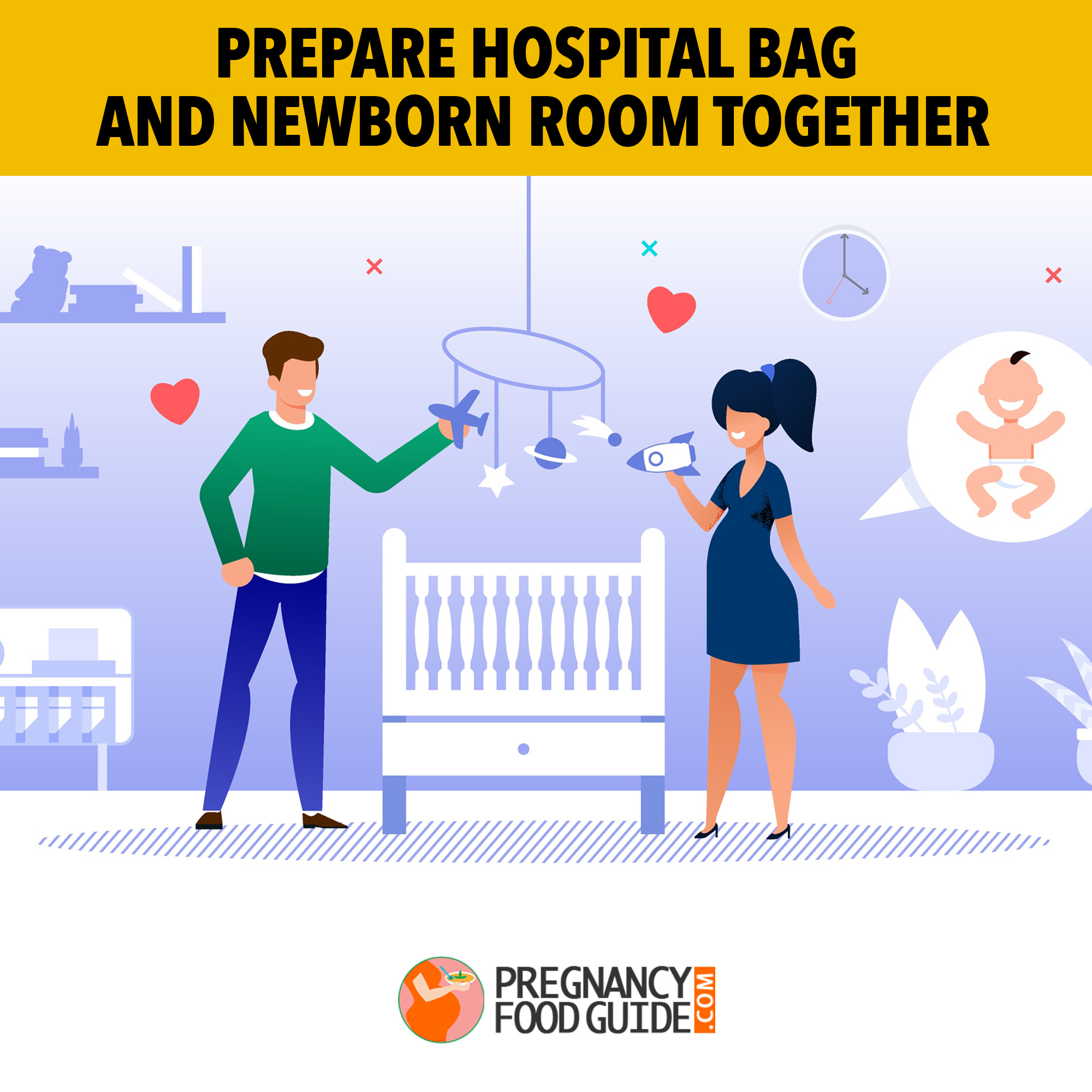 prepare hospital bag