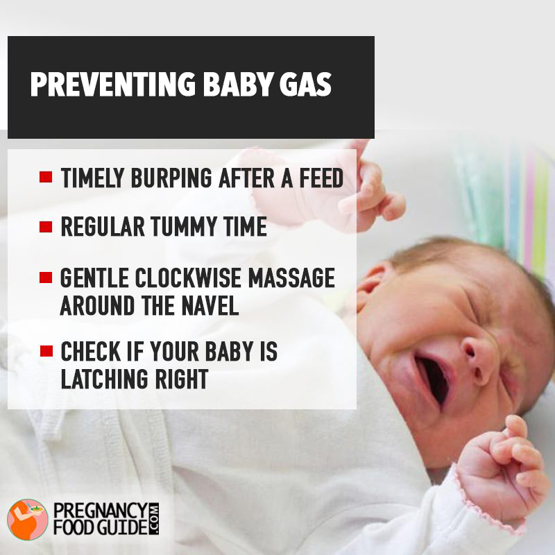 preventing baby gas