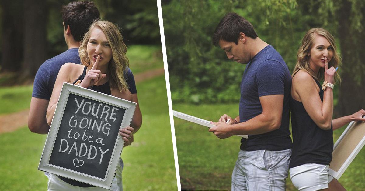 surprise pregnancy husband