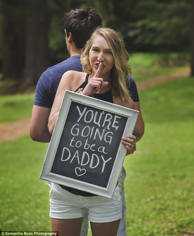 you're going to be a daddy